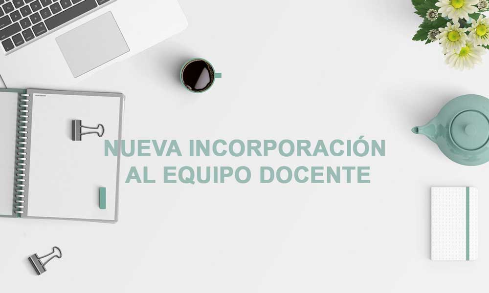 Víctor Vidal, nueva incorporación del equipo docente de Nutrición y Salud
