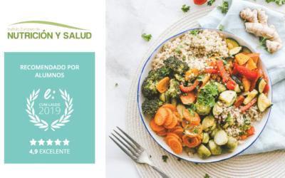 Recibimos el Sello Cum Laude 2019 gracias a las opiniones de Instituto de Nutrición